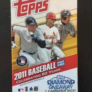 2011 Topps Update hanger box